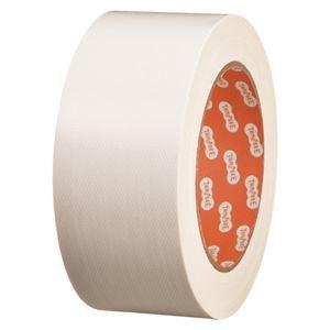その他 (まとめ) TANOSEE 布テープ(カラー) 50mm×25m 白 1巻 【×30セット】 ds-2237094