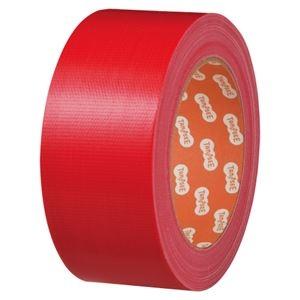 その他 (まとめ) TANOSEE 布テープ(カラー) 50mm×25m 赤 1巻 【×30セット】 ds-2237095