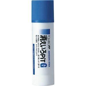 その他 (まとめ) トンボ鉛筆 スティックのり 消えいろピット G 約40g PT-GC 1本 【×30セット】 ds-2237104