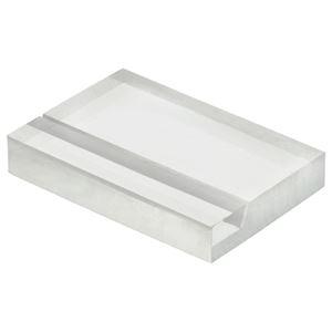 その他 (まとめ) 光 透明アクリルカード立て W30×H20×D5mm A235-1-6 1パック(6個) 【×30セット】 ds-2237296