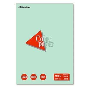 その他 (まとめ) 長門屋商店 Color Paper B5 特厚口 浅黄 ナ-4411 1冊(50枚) 【×30セット】 ds-2237760