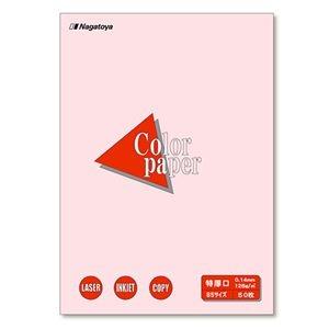 その他 (まとめ) 長門屋商店 Color Paper B5 特厚口 さくら ナ-4419 1冊(50枚) 【×30セット】 ds-2237765