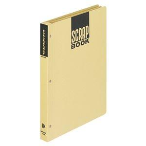 その他 (まとめ) コクヨ スクラップブックD(とじこみ式) B5 中紙28枚 背幅25mm クラフト ラ-41N 1冊 【×30セット】 ds-2237781