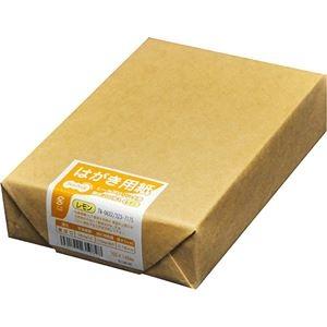 その他 (まとめ) TANOSEE レーザープリンター用 はがきサイズ用紙 レモン 1冊(200枚) 【×30セット】 ds-2238045