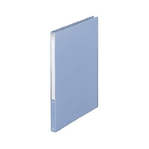 その他 (まとめ) プラス レターファイル A4タテ100枚収容 背幅18mm ブルー FL-001LT 1冊 【×30セット】 ds-2238202