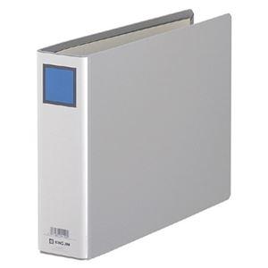 その他 (まとめ) キングファイルG A4ヨコ 500枚収容 背幅66mm グレー 985N 1冊 【×30セット】 ds-2238832