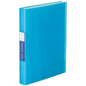 その他 (まとめ) キングジム シンプリーズクリアーファイル(透明) A4タテ 60ポケット 背幅32mm 青 TH184TSPTB 1冊 【×30セット】 ds-2239103