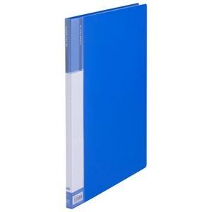 その他 (まとめ) TANOSEEクリヤーファイル(台紙入) B4タテ 20ポケット 背幅15mm ブルー 1冊 【×30セット】 ds-2239223
