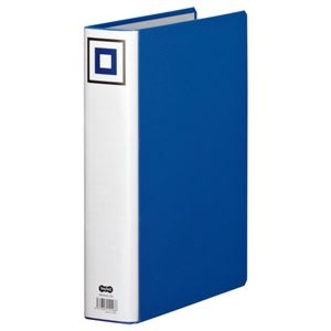 その他 (まとめ) TANOSEE 両開きパイプ式ファイルV A4タテ 500枚収容 背幅65mm 青 1冊 【×30セット】 ds-2239337