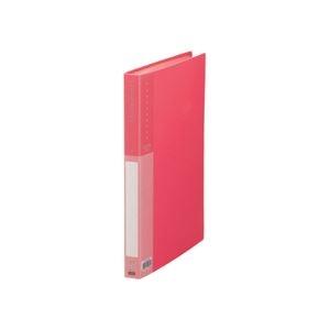 その他 (まとめ) TANOSEE クリヤーブック(クリアブック) A4タテ 40ポケット 背幅26mm ピンク 1冊 【×30セット】 ds-2239397