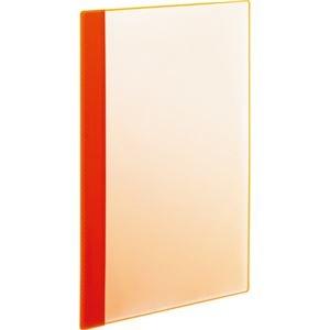その他 (まとめ) TANOSEE薄型クリアブック(角まる) A4タテ 5ポケット オレンジ 1パック(5冊) 【×30セット】 ds-2239577