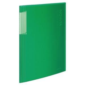 その他 (まとめ) コクヨ クリヤーブック(ノビータ)固定式 A4タテ 20ポケット 背幅5~40mm 緑 ラ-N20G 1冊 【×30セット】 ds-2239597