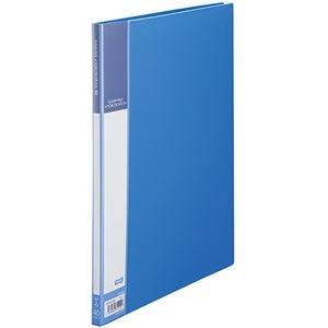 その他 (まとめ) TANOSEE書類が入れやすいクリヤーファイル「ヨコカラ」 A4タテ 40ポケット 背幅11mm ブルー 1冊 【×30セット】 ds-2239649