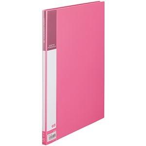 その他 (まとめ) TANOSEE書類が入れやすいクリヤーファイル「ヨコカラ」 A4タテ 40ポケット 背幅11mm ピンク 1冊 【×30セット】 ds-2239650