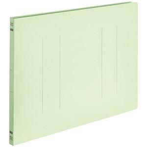 その他 (まとめ) TANOSEEフラットファイルE(エコノミー) B4ヨコ 150枚収容 背幅18mm グリーン 1パック(10冊) 【×30セット】 ds-2239832