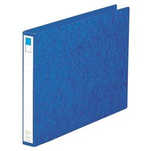 その他 (まとめ) リヒトラブ リングファイル B4ヨコ2穴 200枚収容 背幅35mm 藍 F-834 1冊 【×30セット】 ds-2239854
