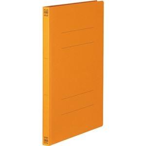 その他 (まとめ) プラス フラットファイル 樹脂とじ具A4タテ 150枚収容 背幅18mm オレンジ No.021N 1セット(10冊) 【×30セット】 ds-2239910