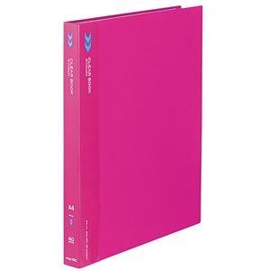 その他 (まとめ) コクヨ クリヤーブック(クリアブック)(K2)固定式 A4タテ 40ポケット 背幅25mm 中紙なし 赤 K2ラ-K40R 1冊 【×30セット】 ds-2240009