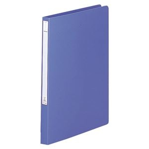 その他 (まとめ) リヒトラブパンチレスファイル(HEAVY DUTY) B4タテ 160枚収容 背幅25mm 藍 F-368-9 1冊 【×30セット】 ds-2240106