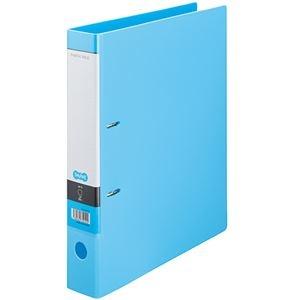 その他 (まとめ) TANOSEE DリングファイルA4タテ 2穴 350枚収容 背幅53mm ライトブルー 1冊 【×30セット】 ds-2240214