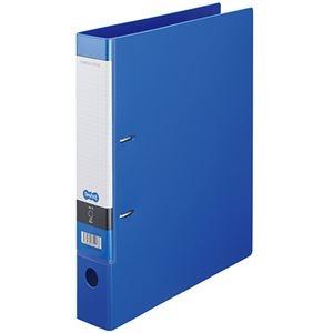 その他 (まとめ) TANOSEE DリングファイルA4タテ 2穴 350枚収容 背幅53mm ブルー 1冊 【×30セット】 ds-2240216