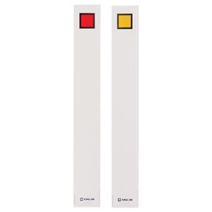 その他 (まとめ) キングジム キングファイルG972N用背見出し紙 A4タテ とじ厚20mm 赤 セ972N 1パック(20枚) 【×30セット】 ds-2240264