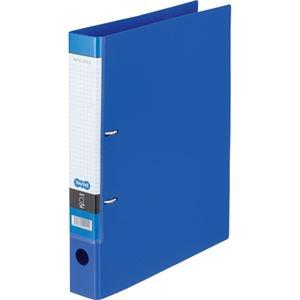 その他 (まとめ) TANOSEE DリングファイルA4タテ 2穴 280枚収容 背幅45mm ブルー 1冊 【×30セット】 ds-2240297