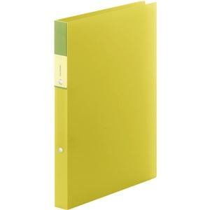 その他 (まとめ) キングジム FAVORITESリングファイル(透明) A4タテ 2穴 140枚収容 背幅29mm 黄色 FV621Tキイ 1冊 【×30セット】 ds-2240366