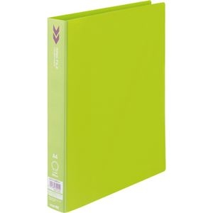 その他 (まとめ) コクヨ リングファイル(K2) A4タテ2穴 200枚収容 背幅34mm 黄緑 K2フ-C420YG 1冊 【×30セット】 ds-2240380