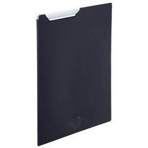 その他 (まとめ) リヒトラブ AQUA DROPsクリップファイル A4 黒(不透明) F-5067-24 1枚 【×30セット】 ds-2240858