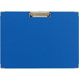 その他 (まとめ) TANOSEE 用箋挟 A3ヨコ ブルー 1枚 【×30セット】 ds-2240909