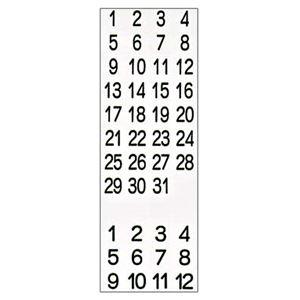 その他 (まとめ) ライオン事務器 マグネットシート数字「1~31」 CP-603 1枚 【×30セット】 ds-2241249