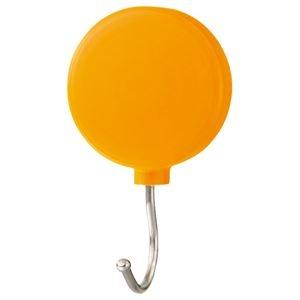 その他 (まとめ) ミツヤ プラマグネットフック スイング式 耐荷重約3Kg オレンジ PMHRM-OR 1個 【×30セット】 ds-2241367