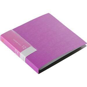 その他 (まとめ) バッファローCD&DVDファイルケース ブックタイプ 12枚収納 ピンク BSCD01F12PK 1個 【×50セット】 ds-2241833