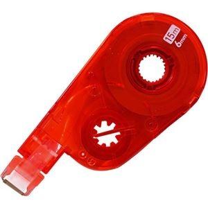 その他 (まとめ) プラス 修正テープ ホワイパースイッチ交換テープ(簡易パッケージ) 6mm幅×15m レッド WH-1516R RD 1個 【×50セット】 ds-2242195
