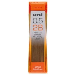 その他 (まとめ) 三菱鉛筆 シャープ SHARP替芯 ユニ ナノダイヤ 0.5mm 2B U05202ND2B 1個(40本) 【×50セット】 ds-2242333