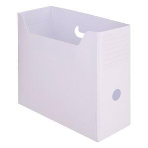その他 (まとめ) TANOSEEPP製ボックスファイル(組み立て式) A4ヨコ ホワイト 1個 【×50セット】 ds-2242521