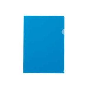 その他 (まとめ) テージー カラークリアフォルダー A4クリスタルブルー CC-141A-20 1パック(10枚) 【×50セット】 ds-2243430