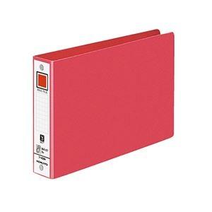 その他 (まとめ) コクヨ リングファイル 色厚板紙表紙B6ヨコ 2穴 220枚収容 背幅38mm 赤 フ-408NR 1冊 【×50セット】 ds-2243500
