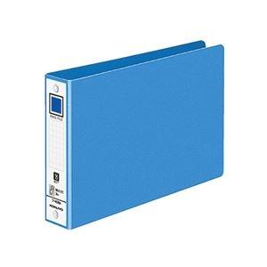 その他 (まとめ) コクヨ リングファイル 色厚板紙表紙B6ヨコ 2穴 220枚収容 背幅38mm 青 フ-408NB 1冊 【×50セット】 ds-2243501