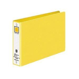 その他 (まとめ) コクヨ リングファイル 色厚板紙表紙B6ヨコ 2穴 220枚収容 背幅38mm 黄 フ-408NY 1冊 【×50セット】 ds-2243502