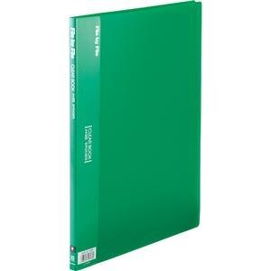 その他 (まとめ) ビュートン クリヤーブック(クリアブック) A4タテ 10ポケット 背幅9mm グリーン BCB-A4-10GN 1冊 【×50セット】 ds-2243569