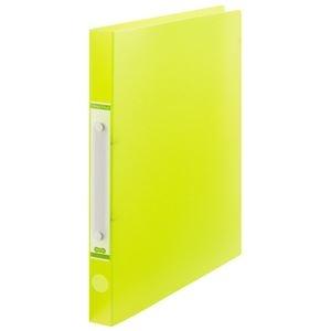 その他 (まとめ) TANOSEEOリングファイル(半透明表紙) A4タテ リング内径20mm グリーン 1冊 【×50セット】 ds-2243579