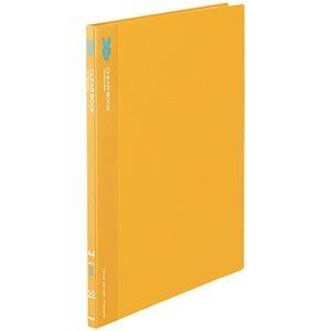 その他 (まとめ) コクヨ クリヤーブック(クリアブック)(K2)固定式 A4タテ 10ポケット 背幅11mm 中紙なし オレンジ K2ラ-K10YR 1冊 【×50セット】 ds-2243597