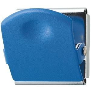 その他 (まとめ) TANOSEE 超強力マグネットクリップM ブルー 1個 【×50セット】 ds-2243976