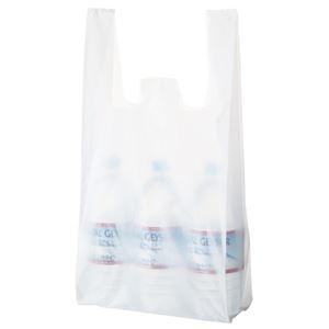 その他 (まとめ) TANOSEE 乳白レジ袋 35号ヨコ260×タテ530×マチ幅130mm 1パック(100枚) 【×50セット】 ds-2244194