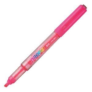 その他 (まとめ) 三菱鉛筆 蛍光ペン プロパス・カートリッジ 桃 PUS155.13 1本 【×100セット】 ds-2244368
