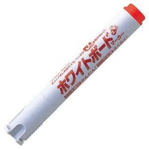 その他 (まとめ) シヤチハタアートライン潤芯ホワイトボードマーカー 丸芯 赤 K-527-R 1本 【×100セット】 ds-2244517