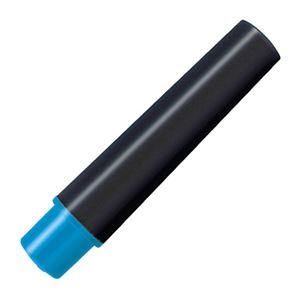 その他 (まとめ) ゼブラ 水性マーカー紙用マッキー(太+細)用インクカートリッジ ライトブルー RWYT5-LB 1パック(2本) 【×100セット】 ds-2244528