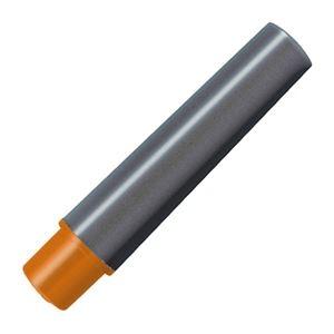 その他 (まとめ) ゼブラ 水性マーカー紙用マッキー極細用インクカートリッジ オレンジ RWYTS5-OR 1パック(2本) 【×100セット】 ds-2244658